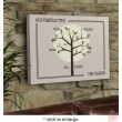 Modern Family Tree Canvas Print