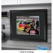 NASCAR autographed print